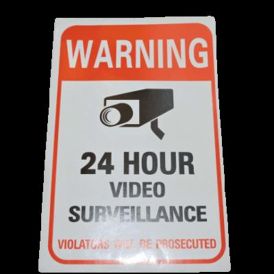 security sticker collant